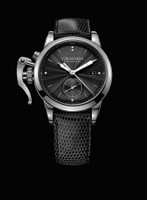 Graham London Chronofighter 1695 Romantic Black Steel Watch 2CXMS.B03A