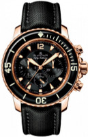 Blancpain 50 Fathoms Flyback Chronograph Red Gold Watch 5085F-1130-52-PG