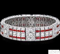 Ziva Antique Ruby Bracelet