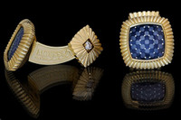"Mousson Atelier Mens Jewellery Cufflinks ""Illusion"" C0046-1/6"