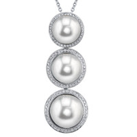 Imperial Crown Quality Pearl Pendant CSP010/WH18