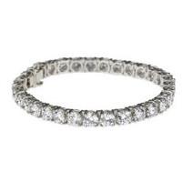 20 ctw Round Diamond Tennis Bracelet
