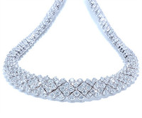 15 cttw Regal Diamond Necklace