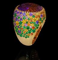 Mousson Atelier Riviera Gold Ametrine Ring R0040-4/16