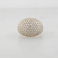 5.73 Carat Dome Diamond Ring LR288