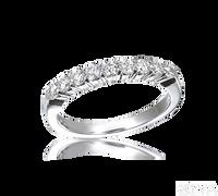 Ziva 1/2 Carat Diamond Wedding Band
