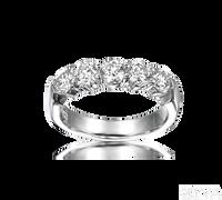 Ziva 1.5 Carat Diamond Anniversary Band