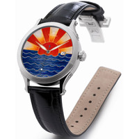 Zannetti Regent Rising Sun Multicolor Automatic Men's Watch