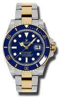 Rolex Submariner Steel & Gold 116613BLU