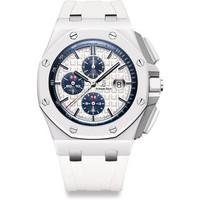 Audemars Piguet Royal Oak Offshore 44mm White Ceramic Watch 26402CB.OO.A010CA.01