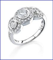 Gregorio 18k WG diamond wedding band R-1043