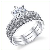 Gregorio 18K WG Diamond Engagement Ring R-538-1
