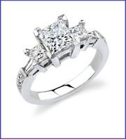 Gregorio 18K WG Diamond Engagement Ring R-371