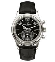 Patek Philippe Annual Calendar Chronograph Platinum Watch 5960P-016