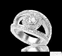 Ziva Designer Diamond Anniversary Ring