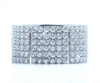 3.26 cttw Diamond Ring