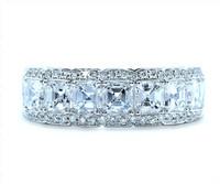 1.58 cttw Diamond Ring In Platinum