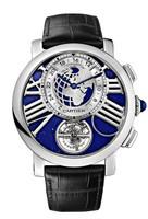 Cartier Rotonde Earth & Moon Platinum Watch W1556222