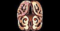 Van Der Bauwede 18K Pink Gold Diamond Butterfly Ring (Small) 00491