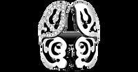 Van Der Bauwede 18K WG Diamond Butterfly Ring (Small) 00485