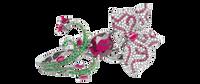 Van Der Bauwede 18K WG Butterfly Lovers Ring 00570