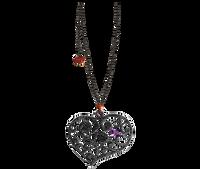 Van Der Bauwede 18K WG & Black Rhodium Sweetheart Diamond Pendant (medium) 00592