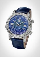 Patek Philippe Grand Complications Celestial Sky Moon Tourbillon WG Watch 6002