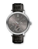 IWC Portofino Manual Ardoise Dial 8 Days Big Date WG Watch IW516101