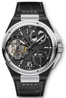 IWC Ingenieur Constant Force Tourbillon Platinum & Black Ceramic Watch IW590001