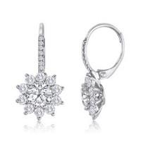 2.58 CT Diamond Earrings