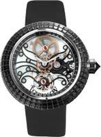 Jacob & Co. Watches Crystal Tourbillon Black Baguette Diamond Tourbillon Black Baguette Diamond Tourbillon