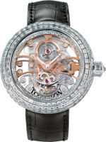 Jacob & Co. Watches Crystal Tourbillon Baguette Diamond Tourbillon Baguette Diamond Tourbillon