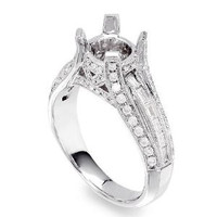 .82 Ct Diamond Engagement Ring Setting