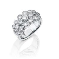 Gregorio 18K WG Diamond Engagement Band R-F
