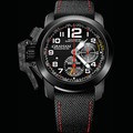 Graham Chronofighter Oversize Superlight TT Black Carbon Nanotube Composite Watch 2CCBK.BO7A