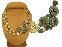 Ethiopian Opal, Pearl & 14.86 ct Diamond Necklace