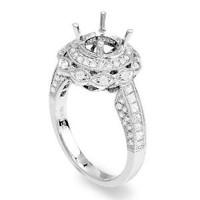 1.0 Ct Diamond Engagement Ring Setting