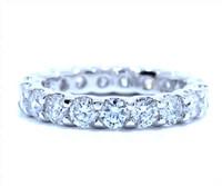 2.85 cttw Diamond Ring Set In Platinum