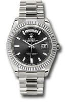 Rolex Watches: Day-Date 40 White Gold 228239 bkbdp