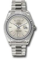 Rolex Watches: Day-Date 40 White Gold 228239 ssmip