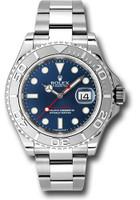 Rolex Watches: Yacht-Master Steel and Platinum 116622 bl