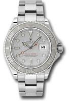 Rolex Watches: Yacht-Master Steel and Platinum 16622
