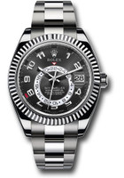 Rolex Watches:  Sky-Dweller White Gold 326939 bk