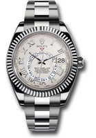 Rolex Watches: Sky-Dweller White Gold 326939 iv