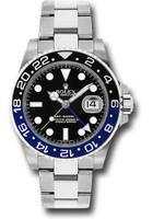 Rolex Watches: GMT-Master II Steel 116710BLNR