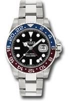 Rolex Watches: GMT-Master II White Gold 116719 BLRO
