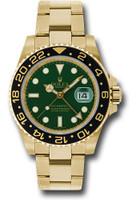 Rolex Watches: GMT-Master II Yellow Gold 116718 g