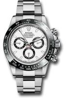 Rolex Watches: Daytona Steel 116500LN White