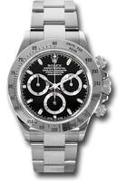 Rolex Watches: Daytona Steel 116520 blk