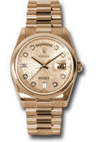 Rolex Watches: Day-Date President Pink Gold - Domed Bezel - President  118205 chjdp